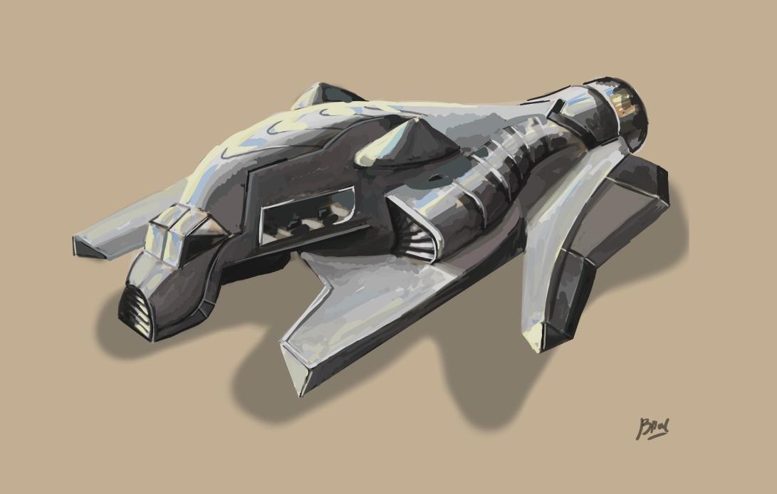 FuturisticAtmosphericShip